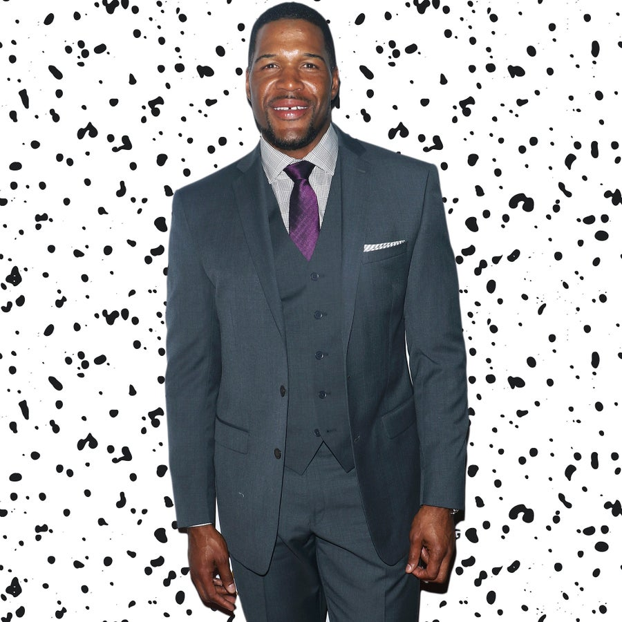 Michael Strahan Has Joined The Fashion Game And Is Totally Winning