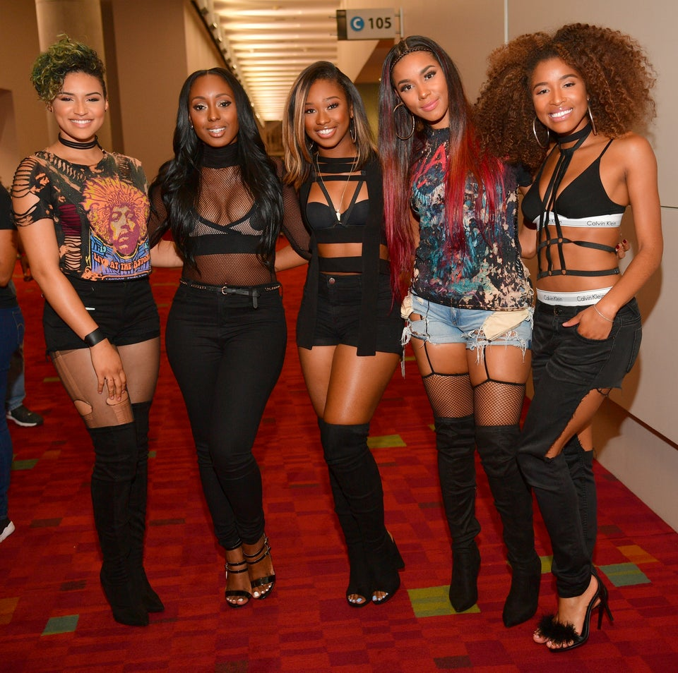 AMAZING: June's Diary Pays Homage To Xscape With Flawless A Capella Performance Of 'Tonight'