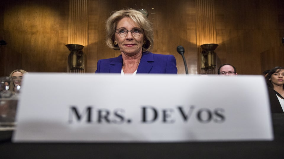 Here's The Smartest Way To Cope With The DeVos And Sessions Hearings