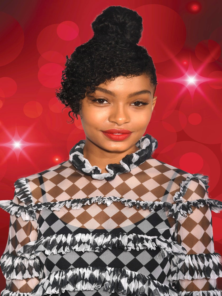Yara Shahidi Wore Our New Favorite Lipstick To The People's Choice Awards