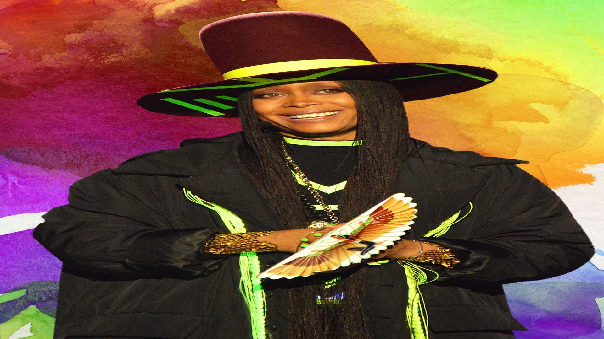 Erykah Badu Was Stopped By The Police On New Years Eve So A Cop Could Say 'Hi'