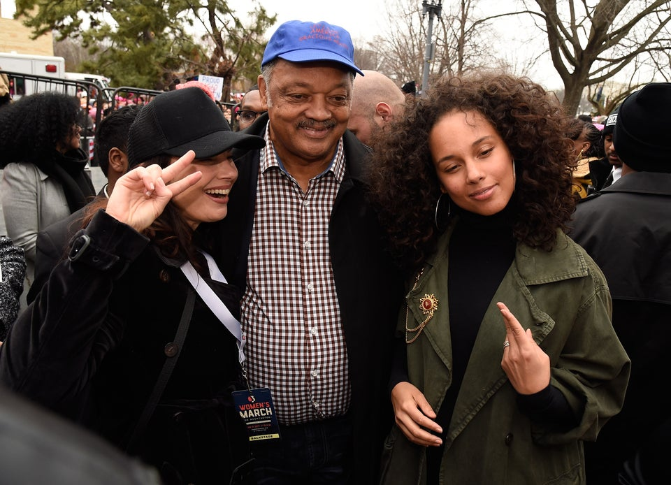 Voices of the Women's March: '50 Years of Civil Rights Have Been Threatened,' Says Jesse Jackson