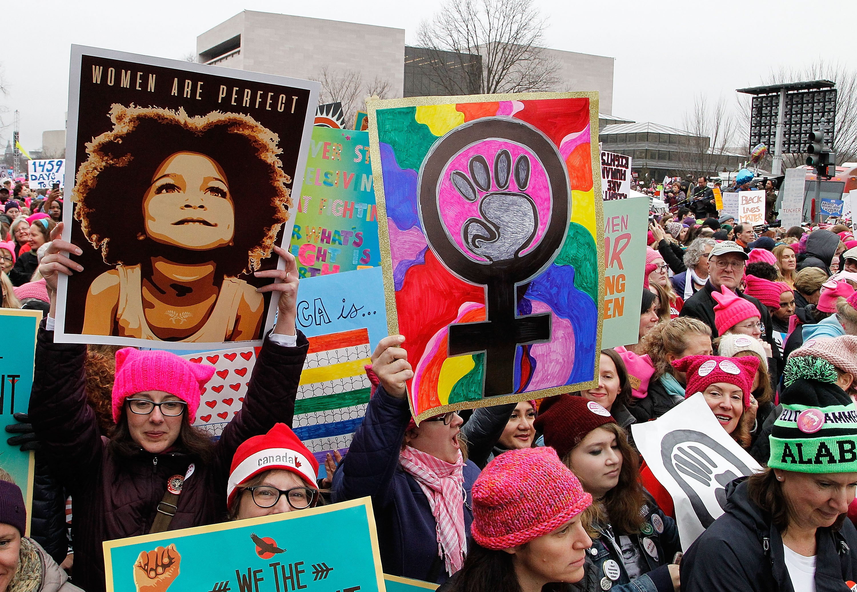 These Are Our Favorite Signs From The Women's March On Washington