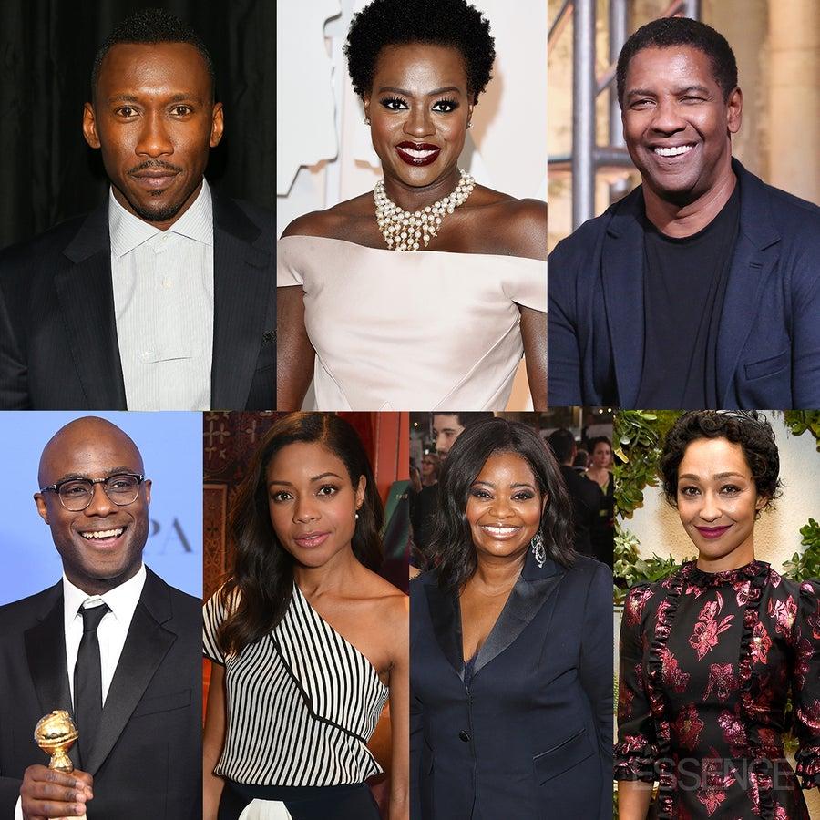 #OscarsSoBlack? Viola Davis, Denzel Washington, 'Moonlight' and 'Hidden Figures'Land Nominations