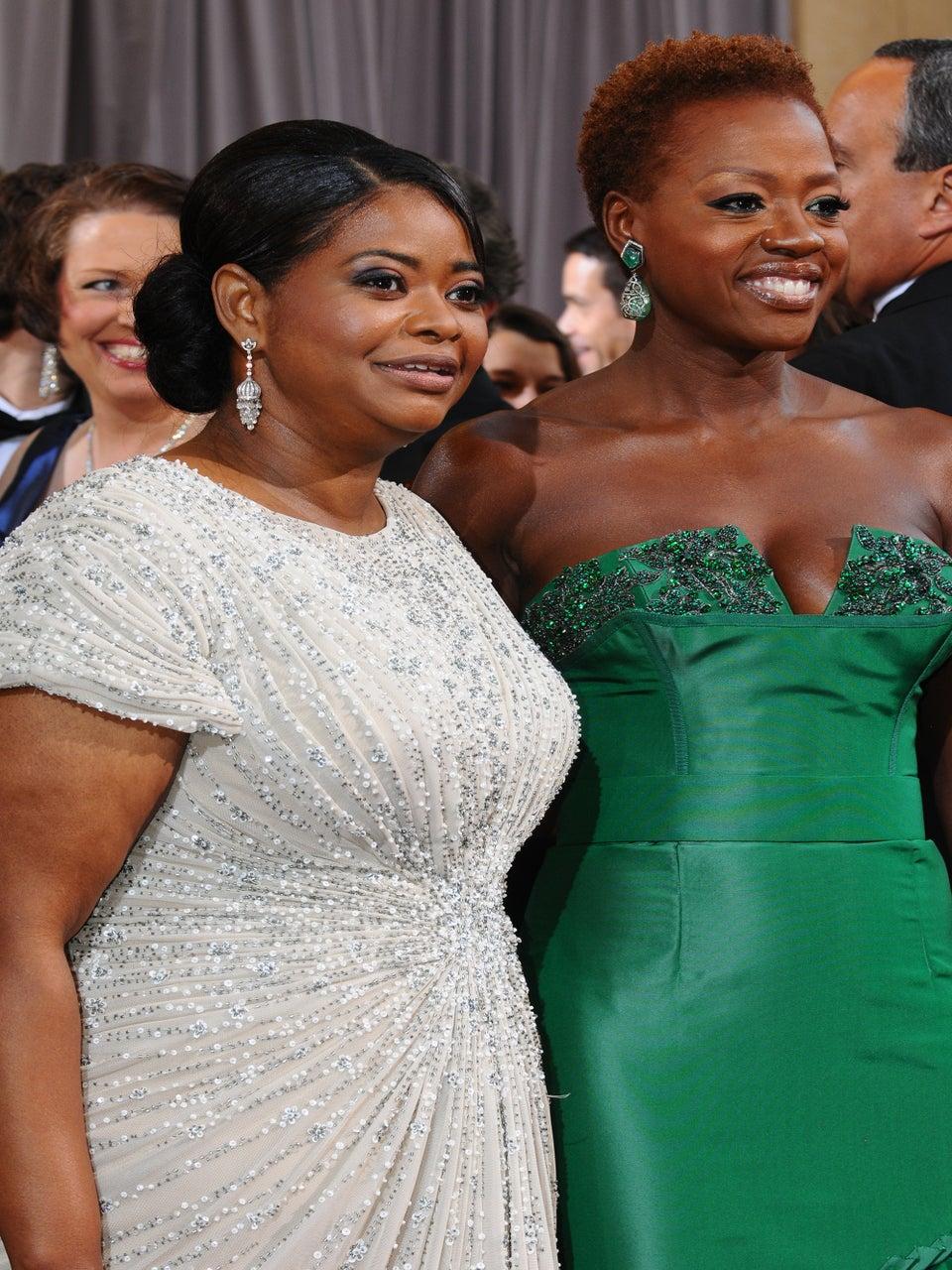 Viola Davis, Octavia Spencer and Naomie Harris Make Oscar History