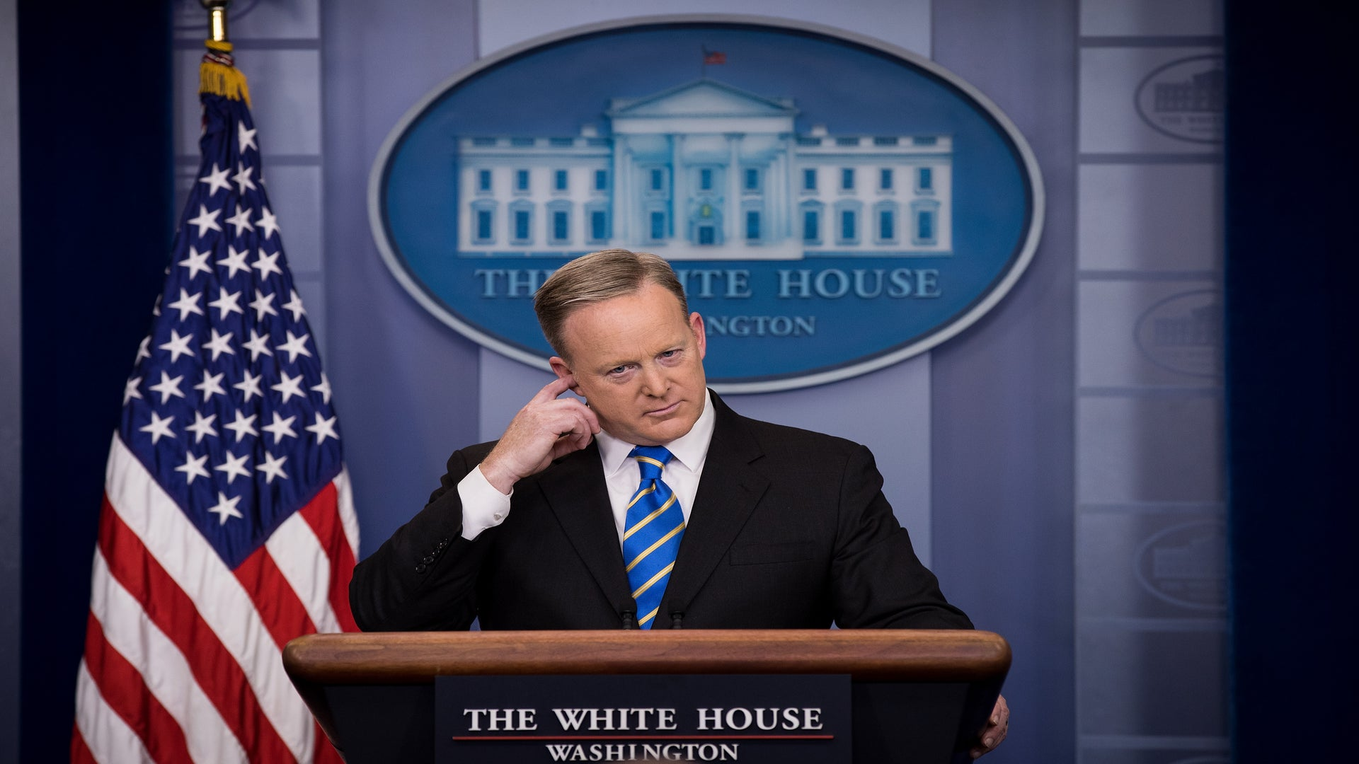 Trump Press Secretary Makes Embarrassing Reference To MLK Jr. During White House Presser