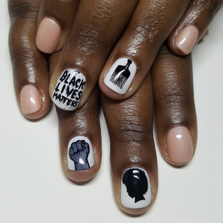 19 Nail Art Looks That Are Seriously Woke and Beautiful