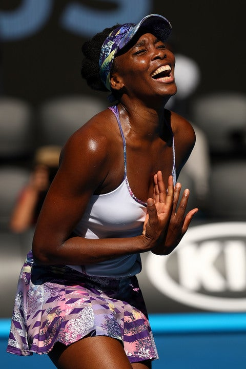 Venus Williams' Amazing Reaction To Advancing In The Australian Open Is Everything!