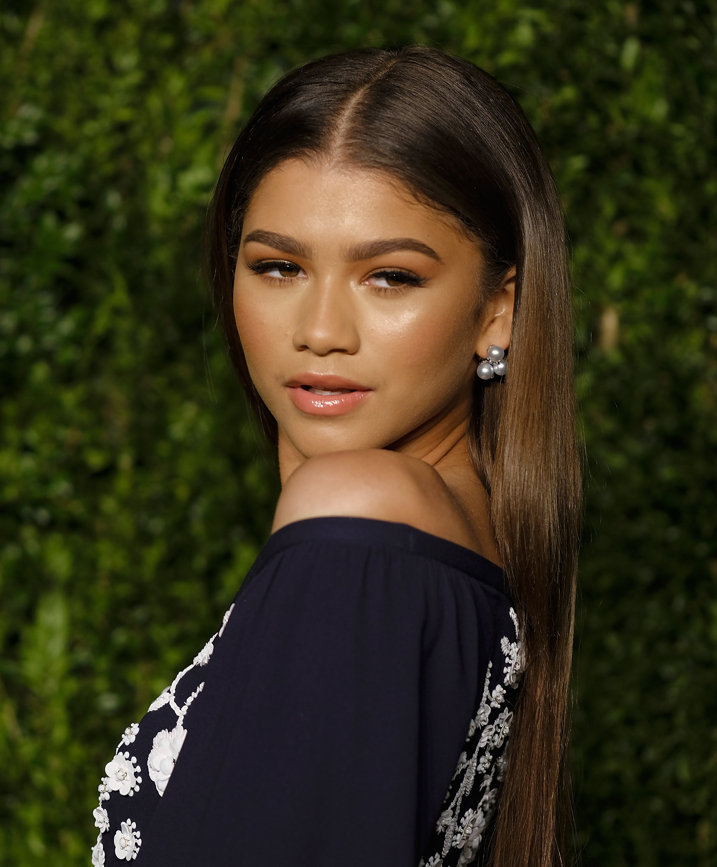 Zendaya Shares Natural Hair Transition Essence