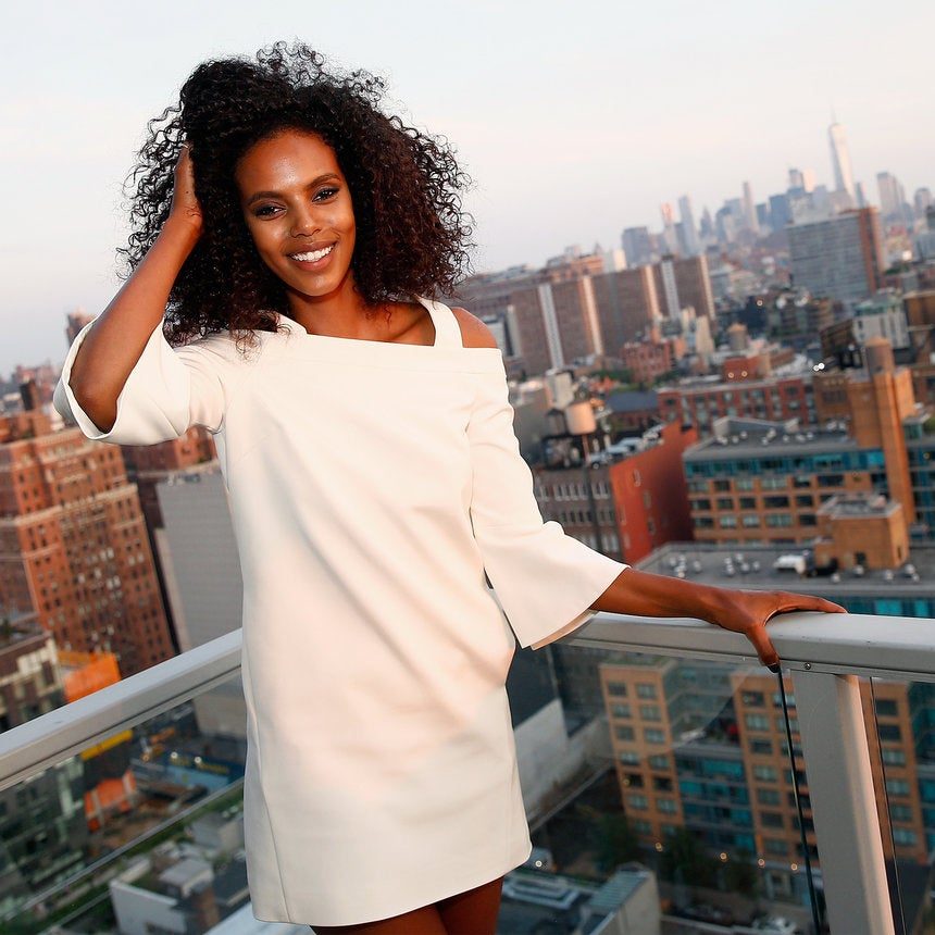 Victoria's Secret Model Grace Mahary Is Determined To Light Homes in Eritrea...One House At A Time
