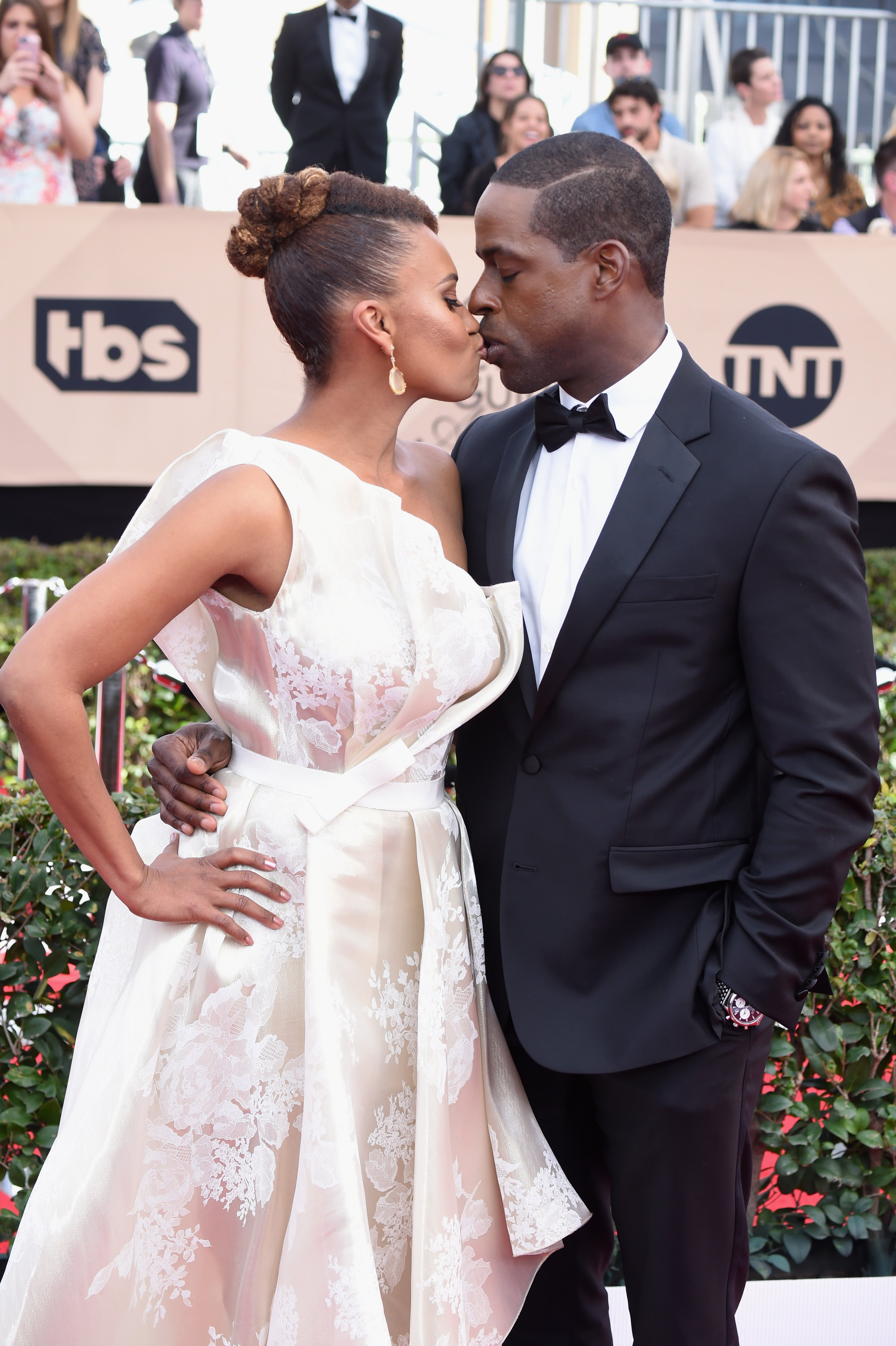 The Glue That Holds 'This Is Us' Star Sterling K. Brown and Wife Ryan Michelle Bathe Together