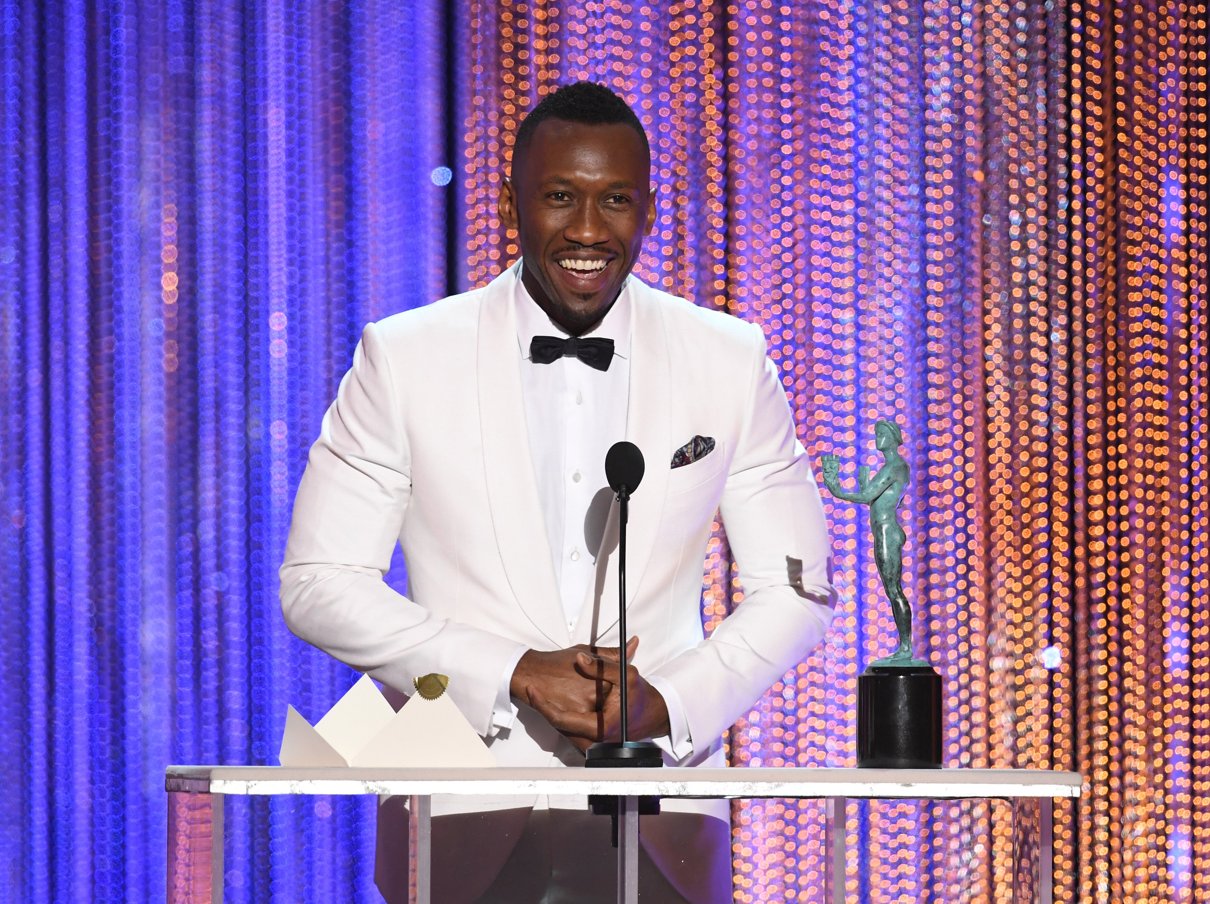 Mahershala Ali SAG Supporting Actor Award