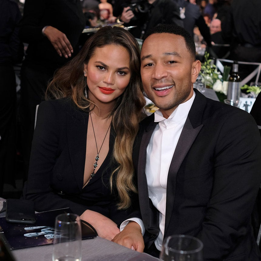 Chrissy Teigen Trolls Husband John Legend's Lack of Baseball Knowledge After He Went to a World Series Game