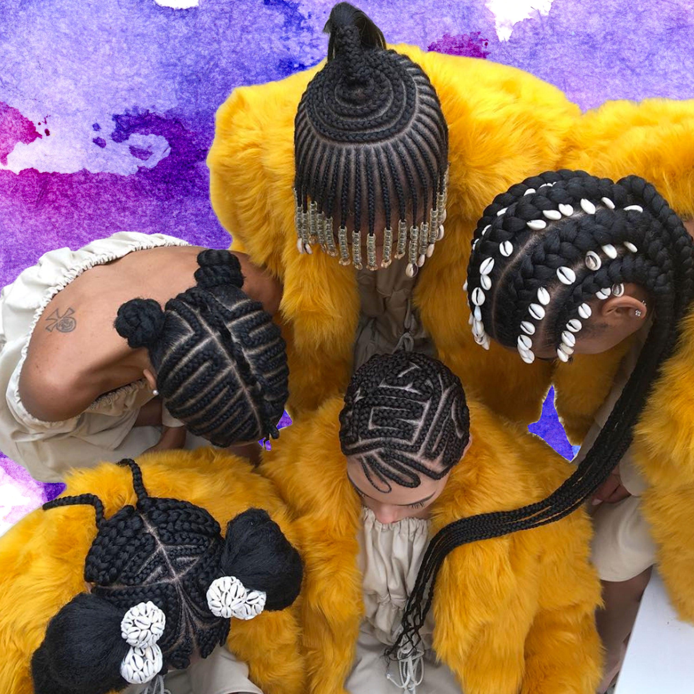 ICYMI: Shani Crowe and Saint Heron Put On An Epic Hair Art Show