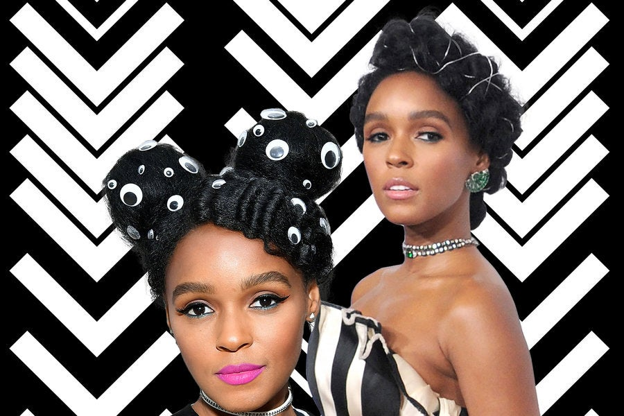 Janelle Monae Hairstyle Accessories - Essence