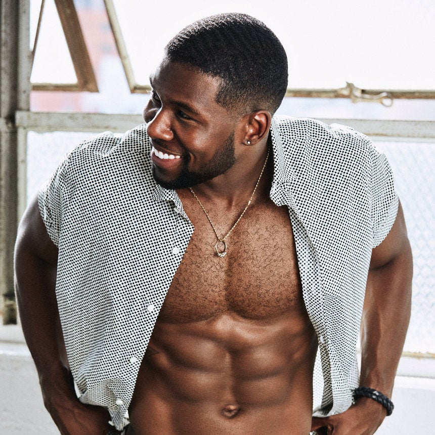 These Never Before Seen Photos of Trevante Rhodes Are Oh So Steamy