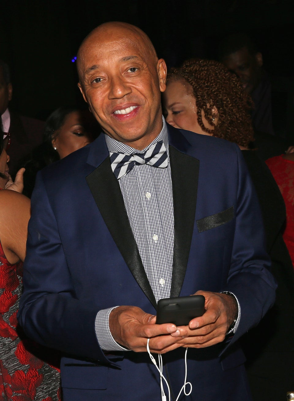 Russell Simmons Leads March