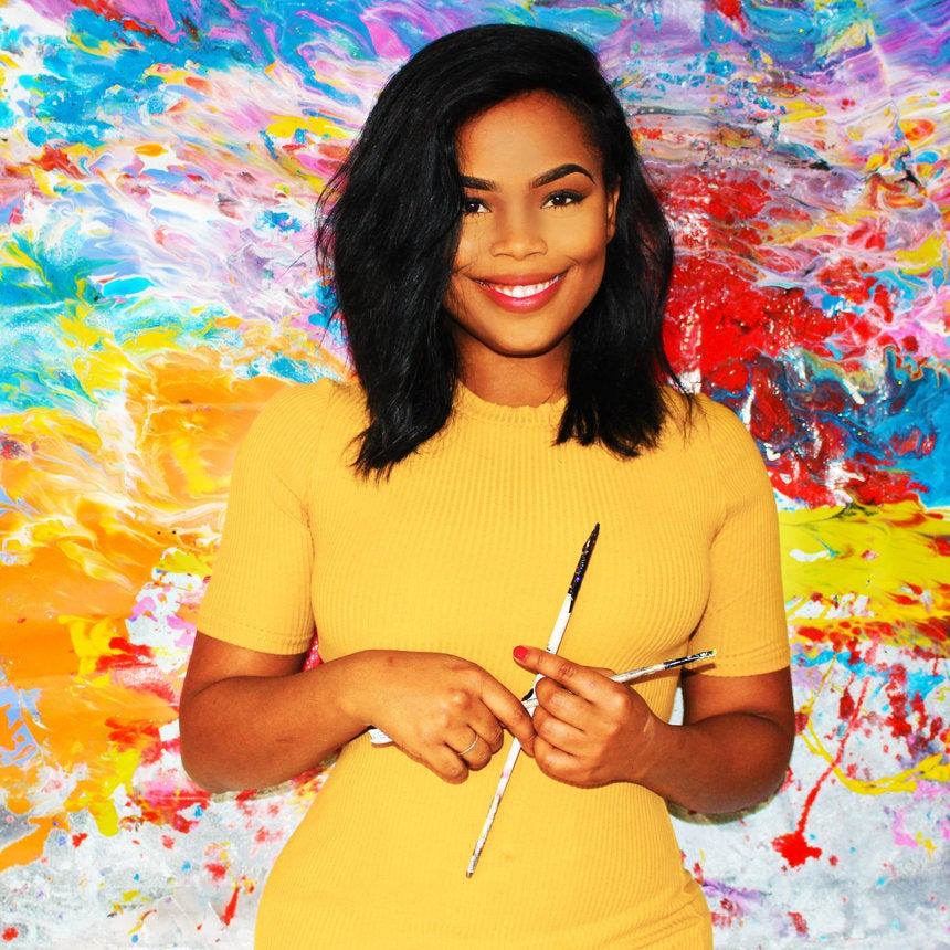 This Artist Once Lived In Her Car — Now Celebrities Buy Her Art