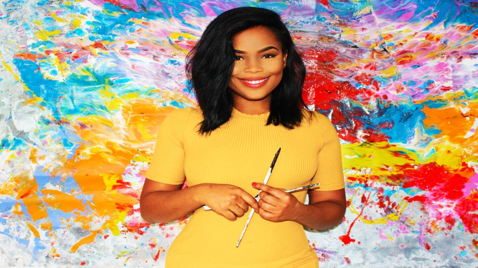 This Artist Once Lived In Her Car, Now Celebrities Buy Her Art