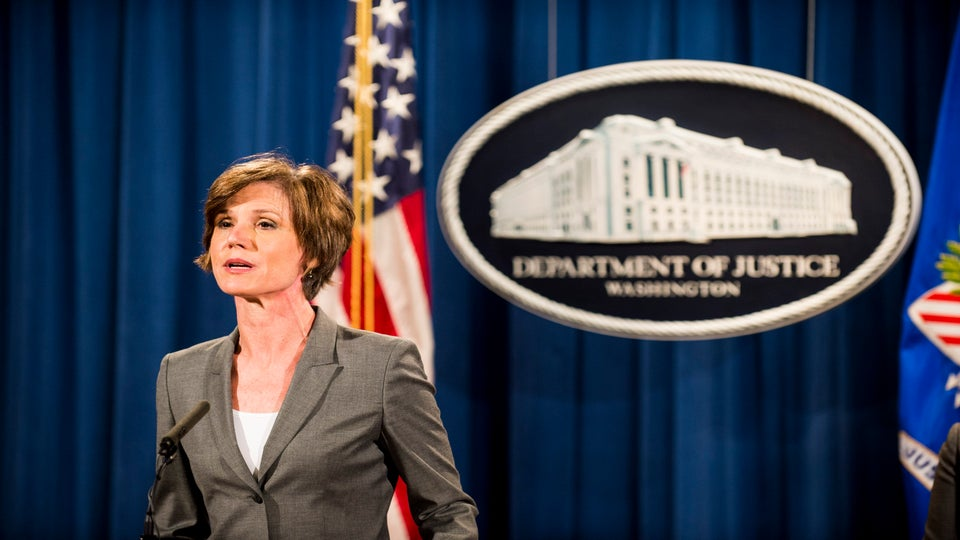 President Trump Fires Acting Attorney General Sally Yates After She Defied Immigration Order