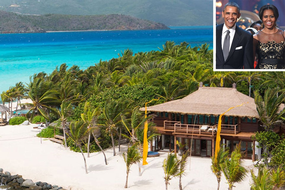 Barack And Michelle Obama Enjoy A Post-Presidency Vacation in the British Virgin Islands