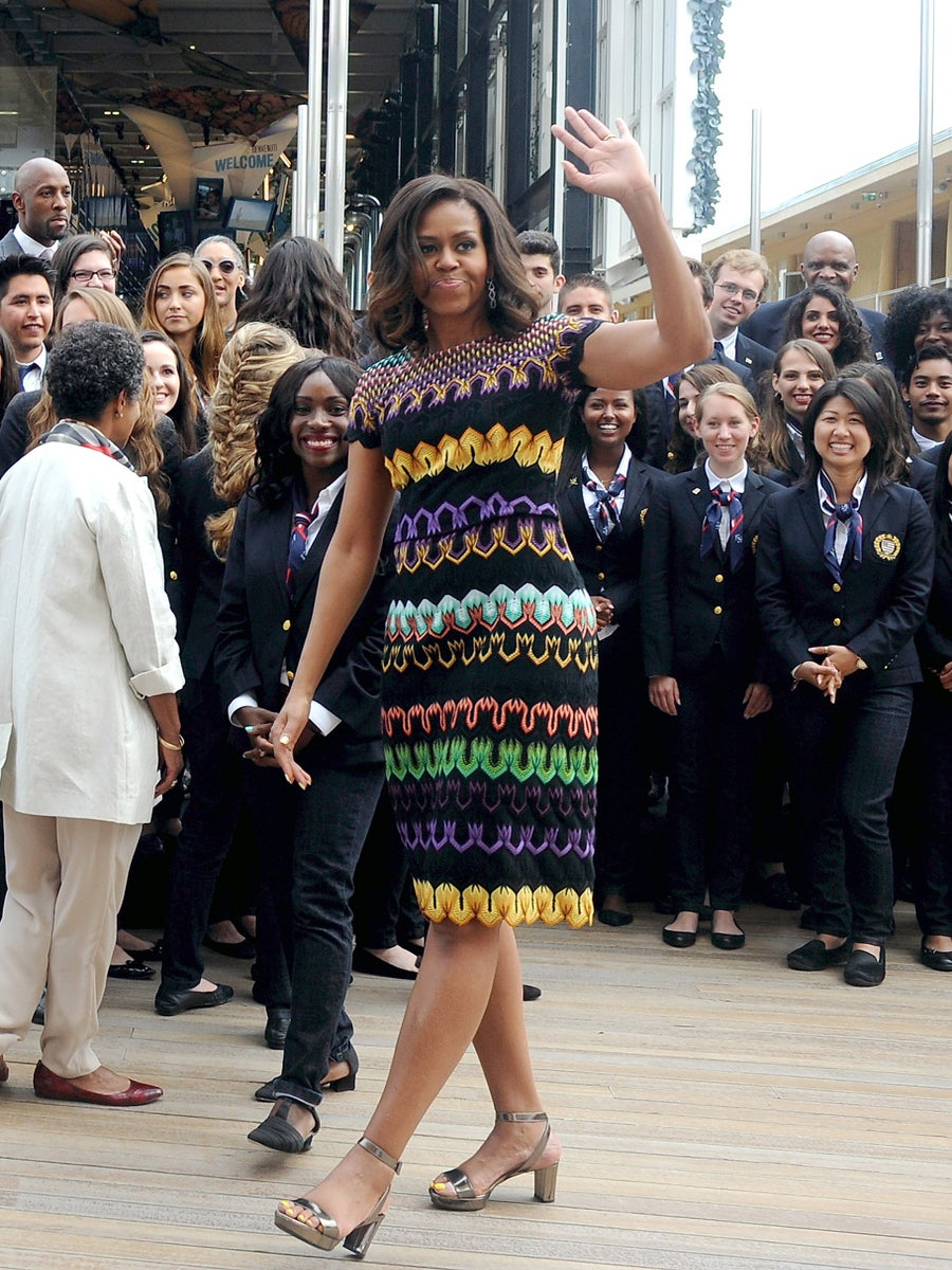Obama Watch: Mrs. Obama Delivers Toys for Tots