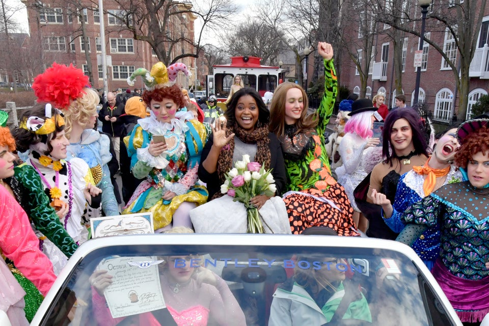 Octavia Spencer Receives Hasty Pudding Award From Harvard