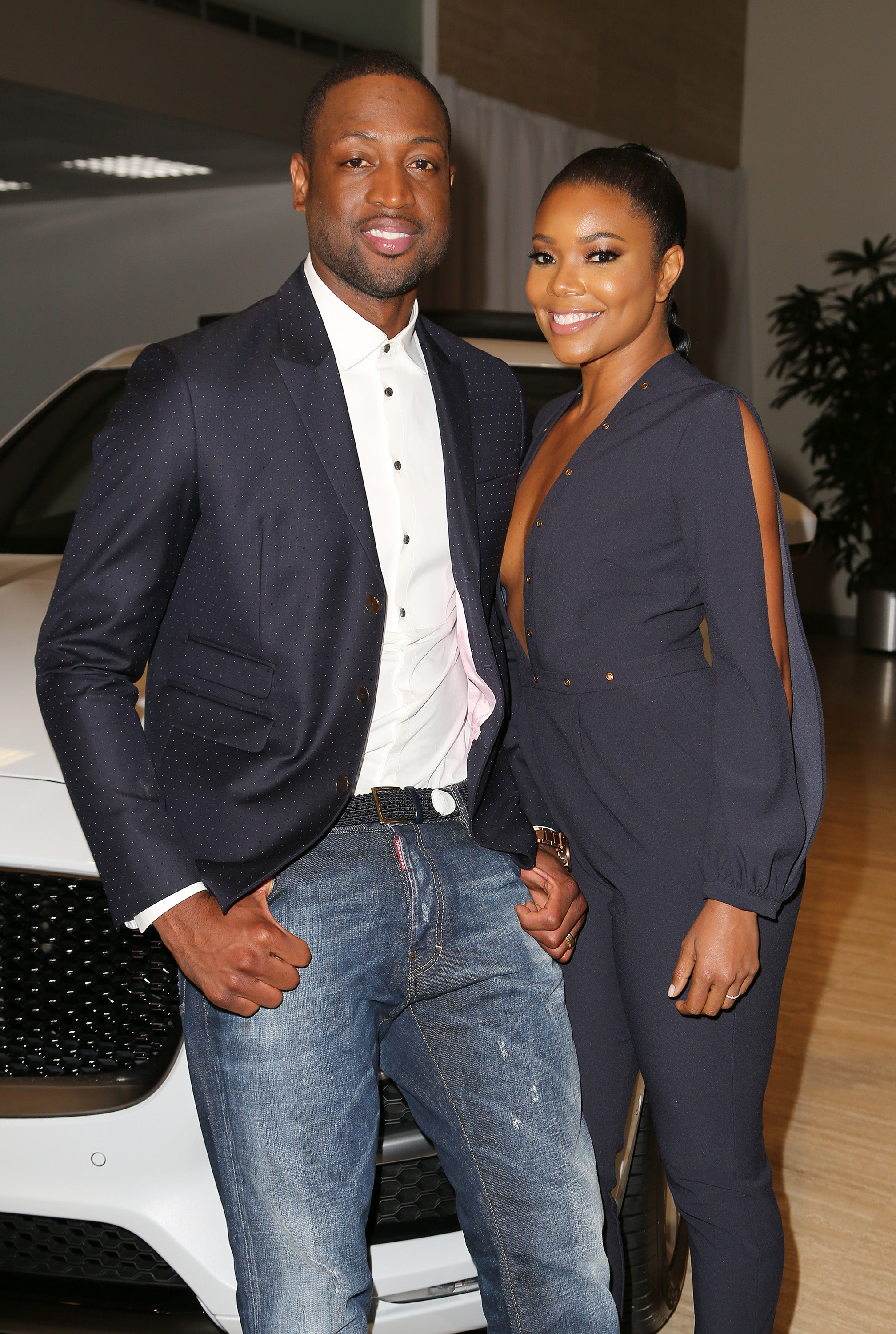 Gabrielle Union Has No Problem Letting Hubby Dwyane Wade Know He Can't Dance