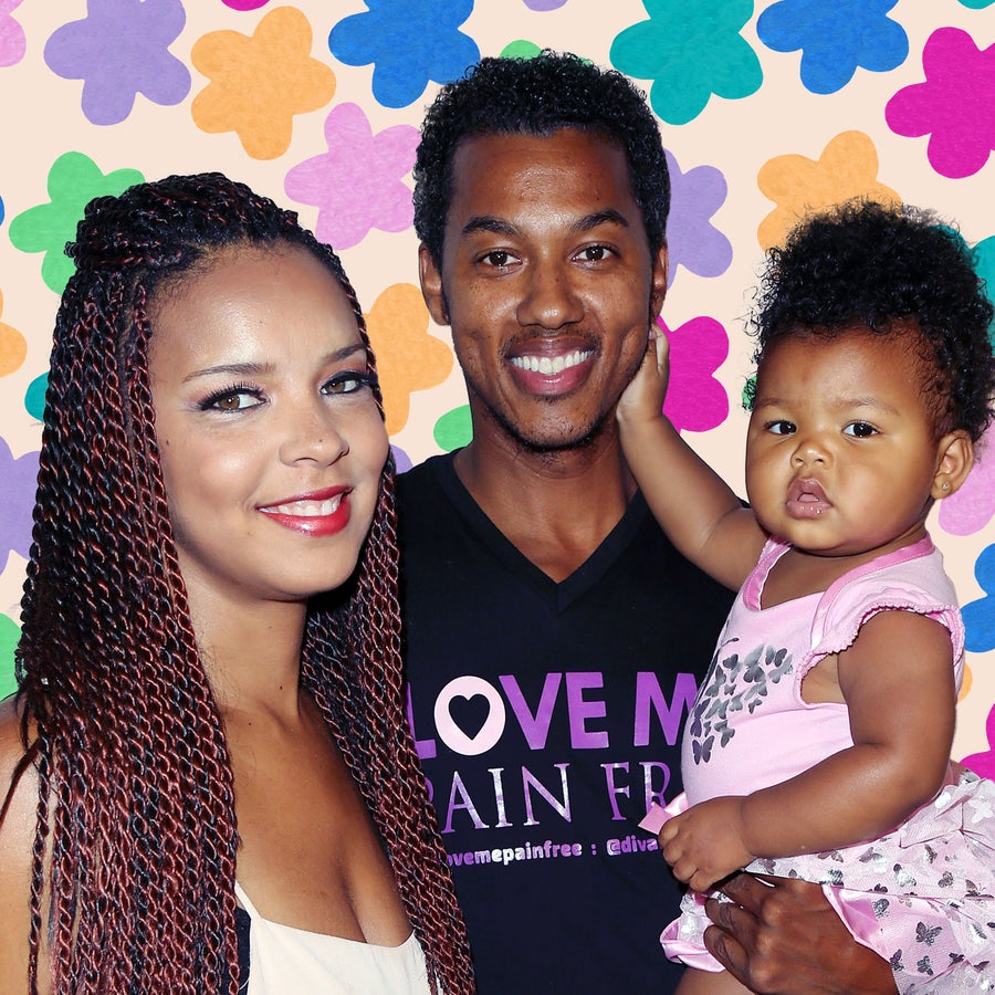 Actor Wesley Jonathan's Father-Daughter Hair Moment Is Too Adorable