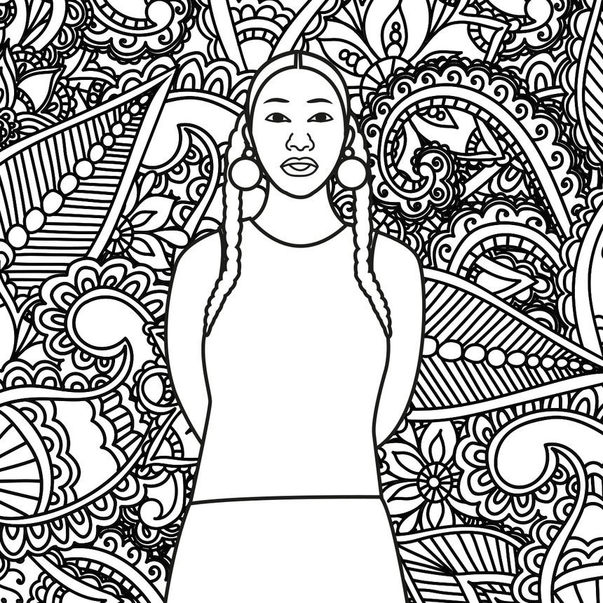 'The Coloring' Of Poet Aja Monet