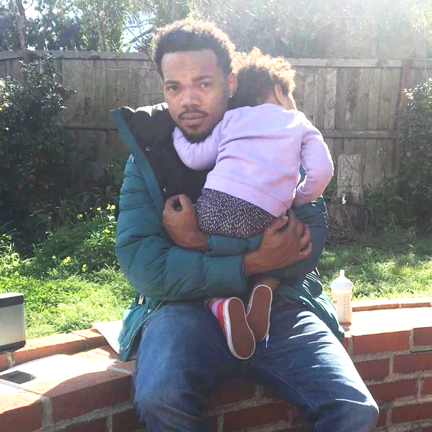 Chance The Rapper Has A Cheat Code For Dads Doing Their Daughter's Hair