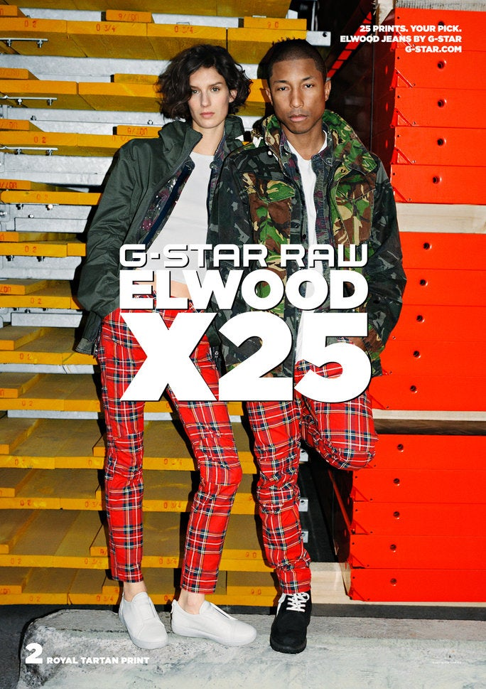 best service 04bb1 34843 Pharrell Williams Launches His First Denim Collection with G-Star Raw