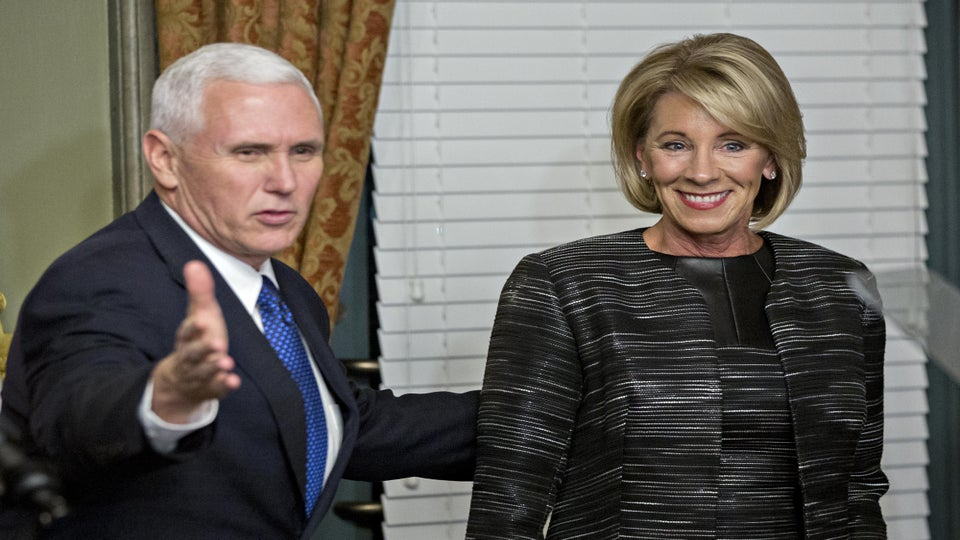 Betsy DeVos' Confirmation May Have Something To Do With All The Money Her Family Gave Republicans