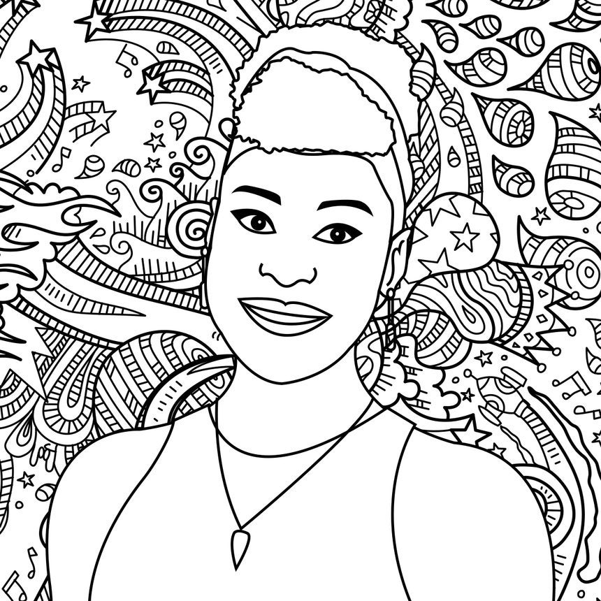 The Coloring Of Issa Rae