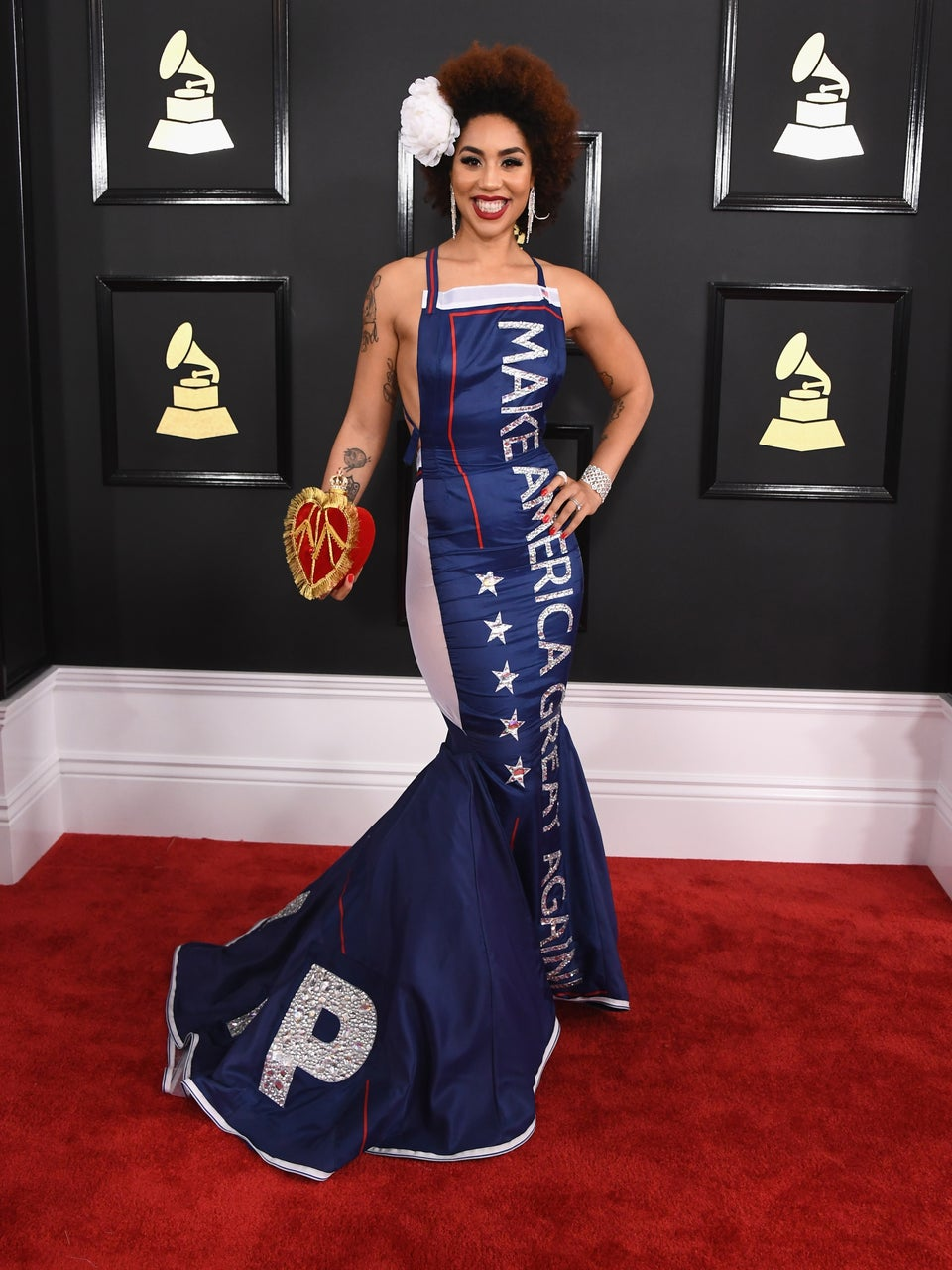 Joy Villa, MAGA Dress Wearer, Thinks Maxine Waters And Frederica Wilson Are Ruining The Country