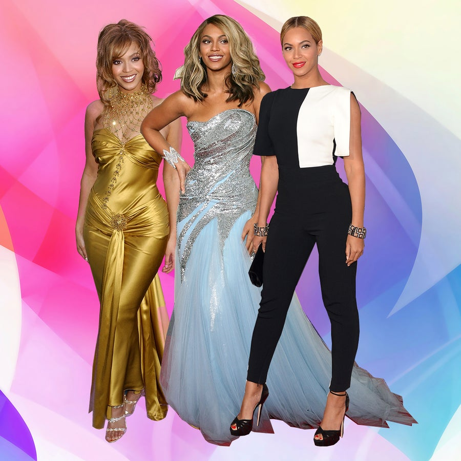 Every Time Beyonce Slayed the Grammys Red Carpet
