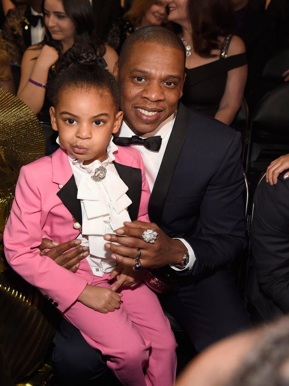 Could This Jay Z and Blue Ivy Father-Daughter Moment at the Grammys Be Any Cuter?