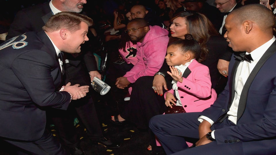 Blue Ivy Carter Joins James Corden's Impromptu Singalong At The Grammys