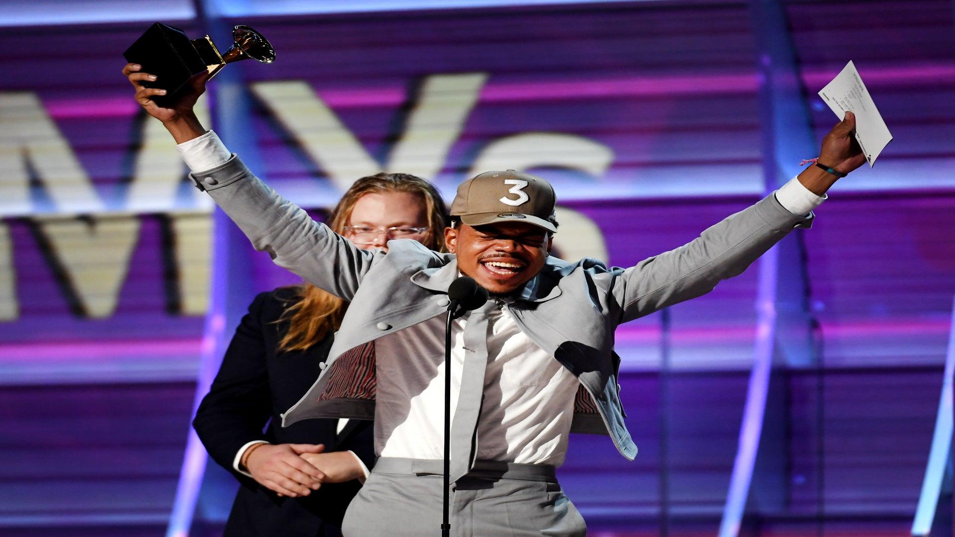 Chance The Rapper Collects Best Rap Album Grammy