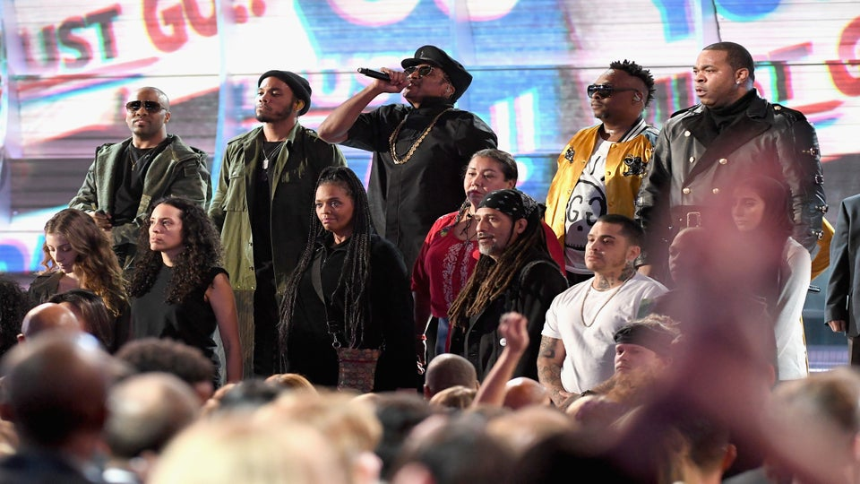 A Tribe Called Quest Slam President Trump For 'Muslim Ban' At Grammys