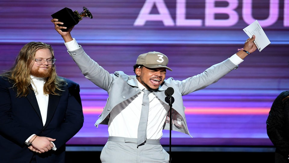 Chance The Rapper Takes The Stage At The 2017 Grammys And Kills It