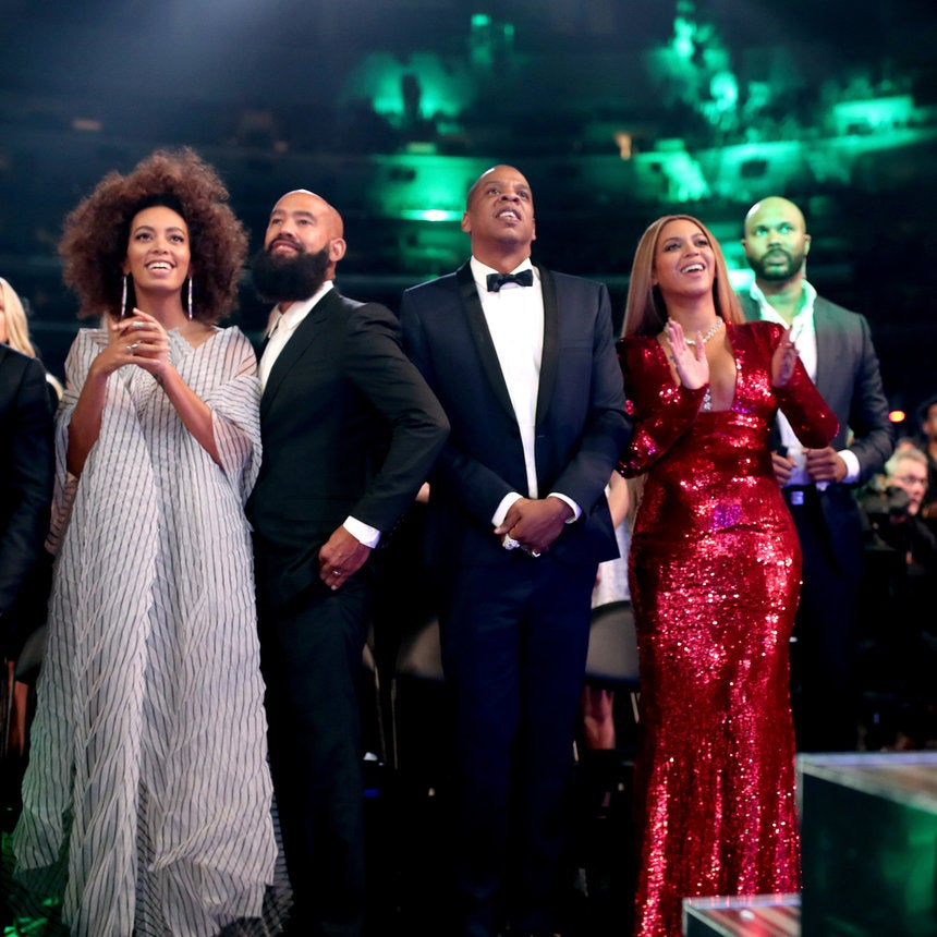 Beyoncé and Solange Exude Pure Joy As They Celebrate Their Big Grammy Wins With Their Husbands