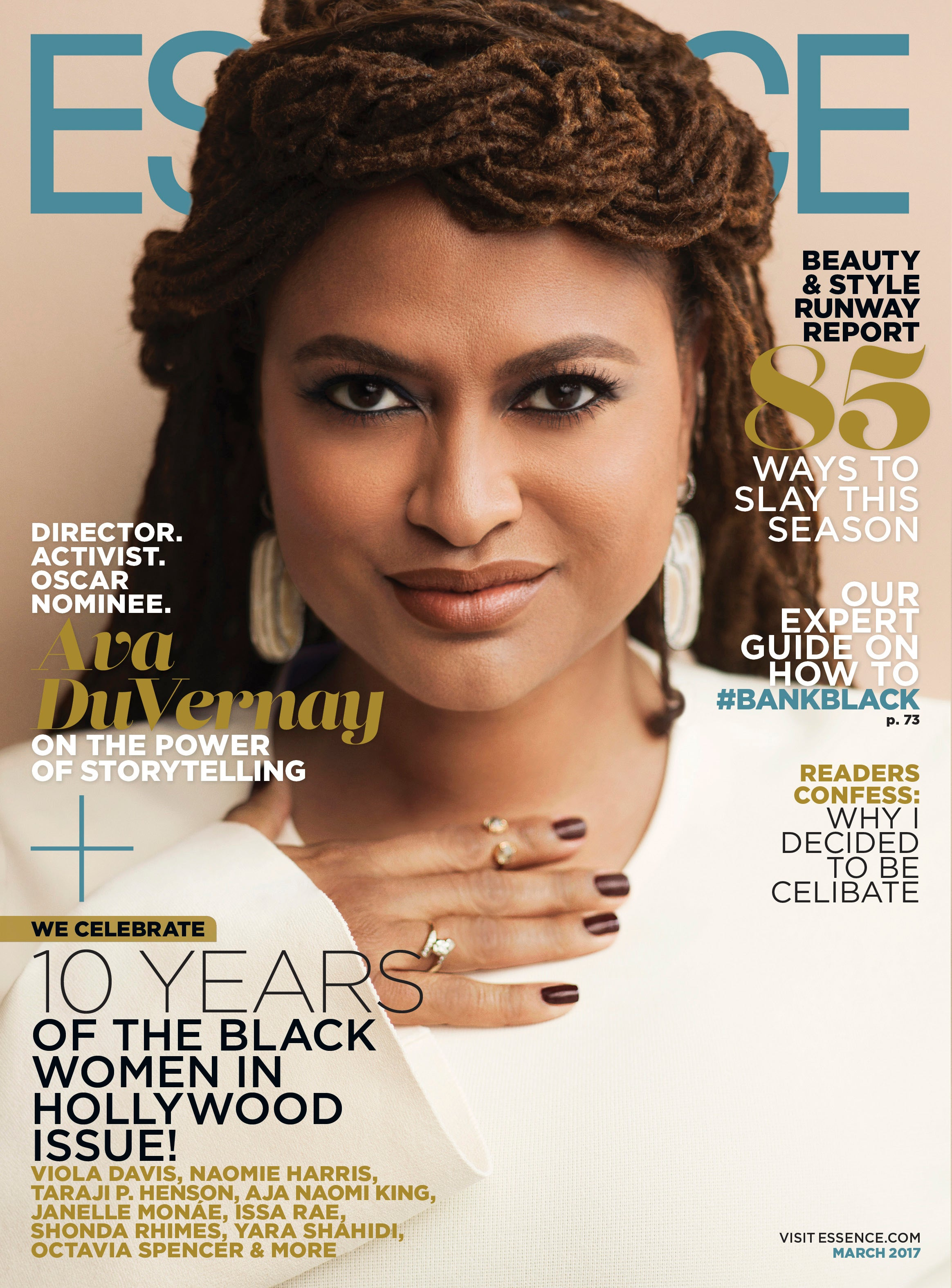 Ava DuVernay Covers ESSENCE's March 2017 Issue - Essence
