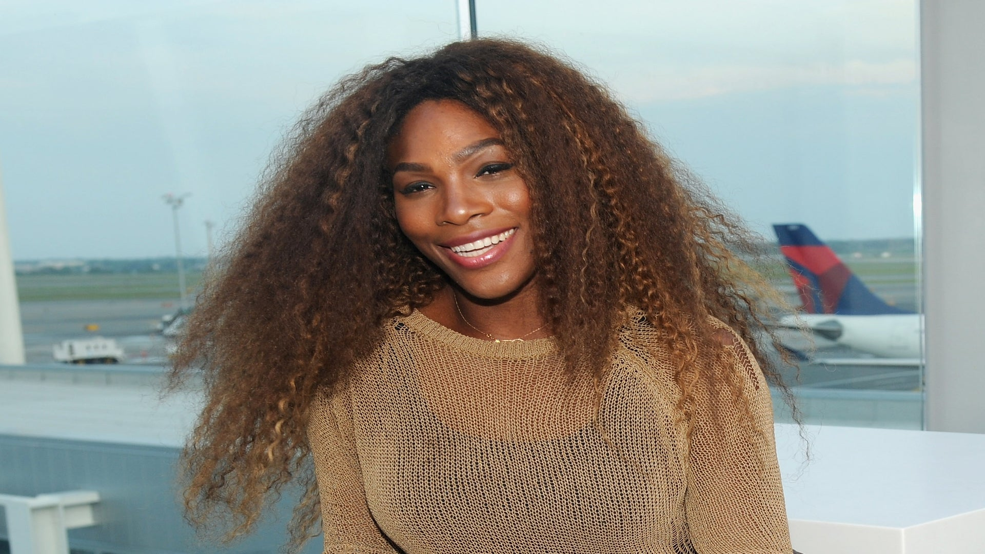 Hairstyle File: Serena Williams' Crimps and Curls