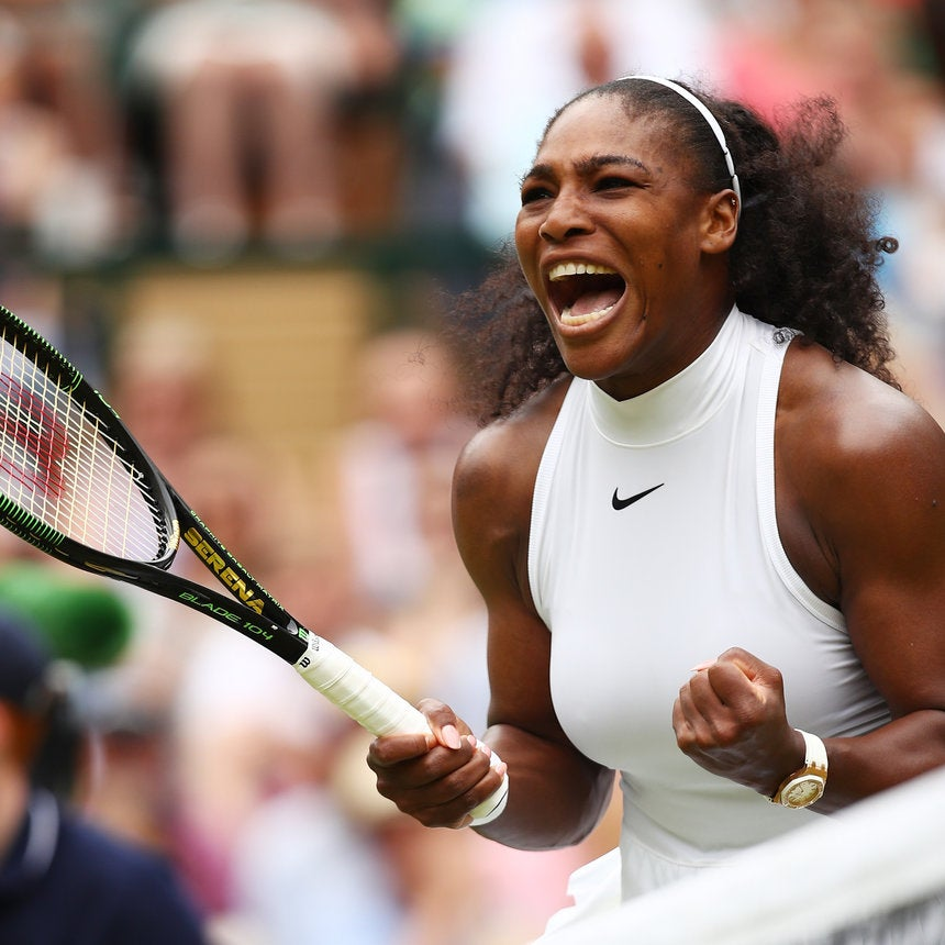 Serena Williams Moves to Wimbledon Finals