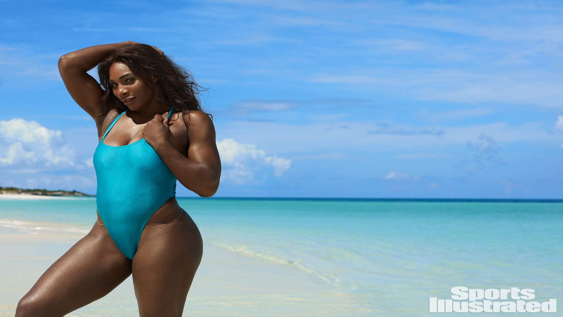 Serena Williams Dares to Bare in Sports Illustrated Swim Shoot: 'I've Never Worn a Thong Bikini Before – Now I'm a Thong Girl'