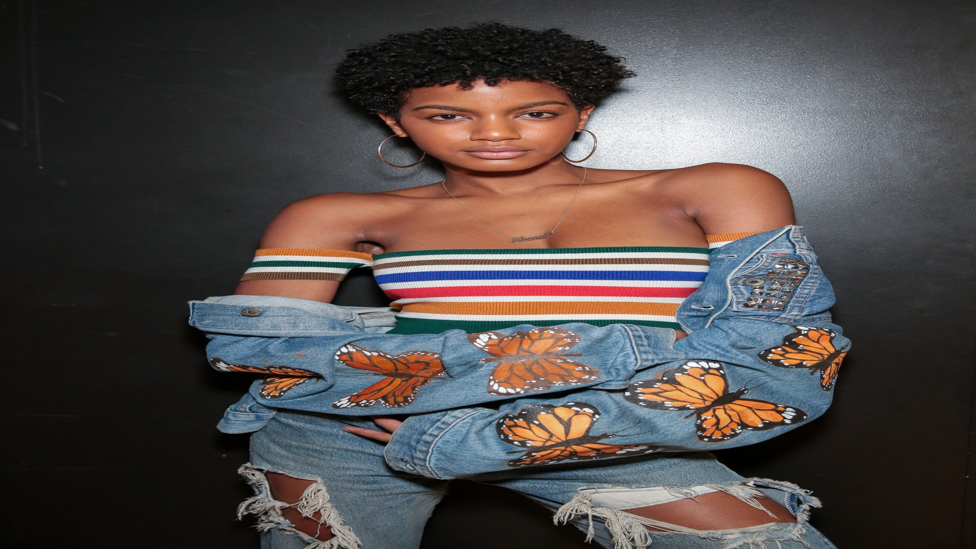 You Have to See Model Ebonee Davis Flawlessly Channel These Iconic Women