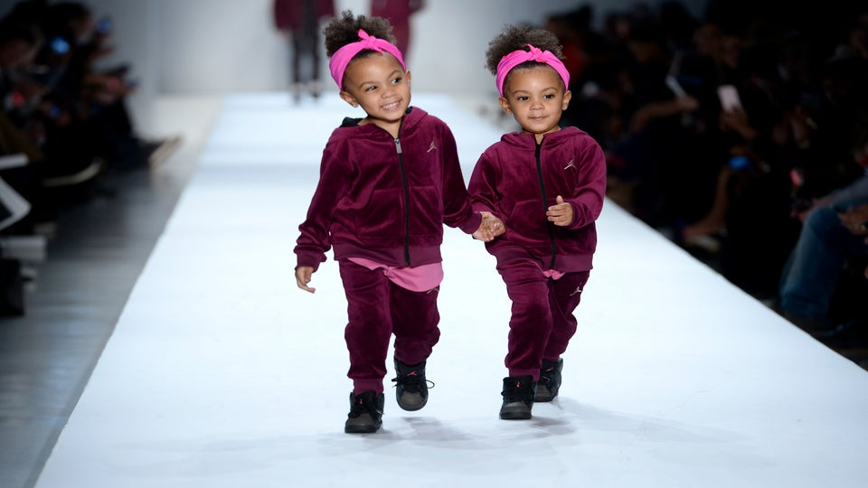 The Always Adorable McClure Twins Make Their Fashion Week Debut