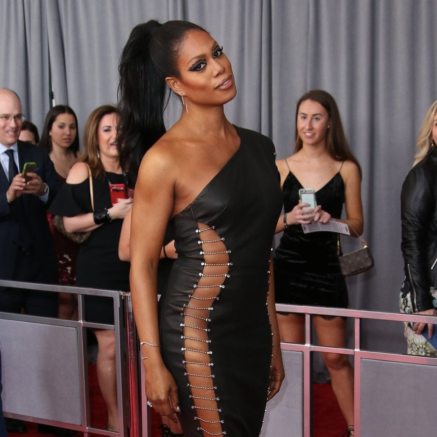 Laverne Cox Dishes on the Scorching Hot Dress She Wore to the Grammys