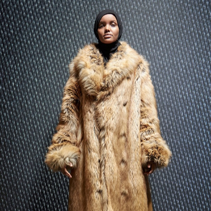 5 Things to Know About Yeezy Season 5 Model Halima Aden